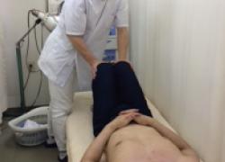 ランニング障害検査写真